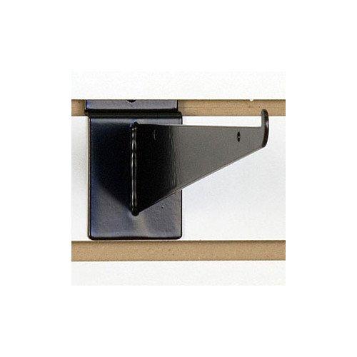 Lot of 25 New Retails Black Finished Slatwall 10 Shelf Bracket