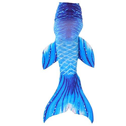 GALLDEALS Mermaid Tail for Swimming Kids Girls Womens Adults Swimsuit Swimwear (No Monofin) ()