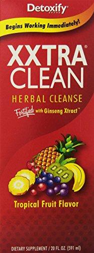 Detoxify Xxtra Clean Herbal Natural Tropical -- 20 fl oz