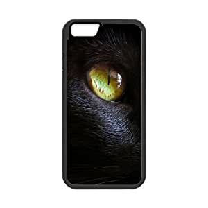 """Black Cat Personalized Case for Iphone6 4.7"""", Customized Black Cat Case"""
