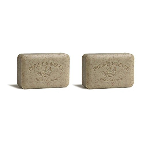 Pre de Provence 250g Shea Butter Enriched Triple Milled Bath Soap – Honey Almond Pack of 2