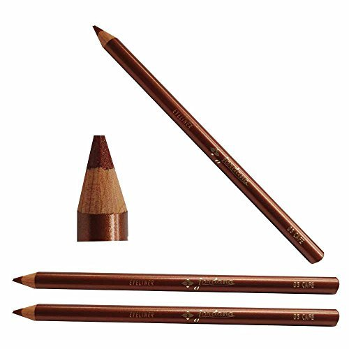 Eyeliner Cafe - JORDANA Eyeliner Pencil-CAFE Color 3Pack