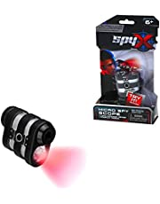 MukikiM SpyX / Micro Spy Scope - Powerful Mini Monocular With Light. Spy Toy. See things from far away! Perfect addition for your spy gear collection!