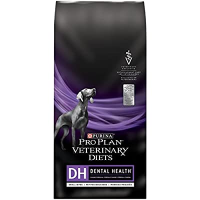 Purina Pro Plan Veterinary Diets 1 Count Dental Health Small Bites Adult Dog Food, 6 lb