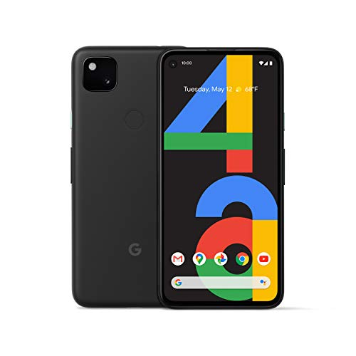 🥇 Google Pixel 4a – New Unlocked Android Smartphone – 128 GB of Storage – Up to 24 Hour Battery – Just Black