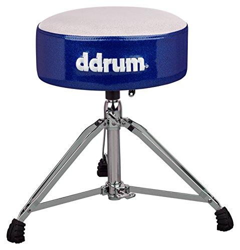 ddrum MFAT WB Mercury Fat Throne, White Top Blue - Thrones Drum Ddrum