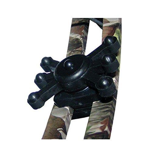 Bowjax Magnum Jax Split Limb Dampener, 1/2-Inch, Black