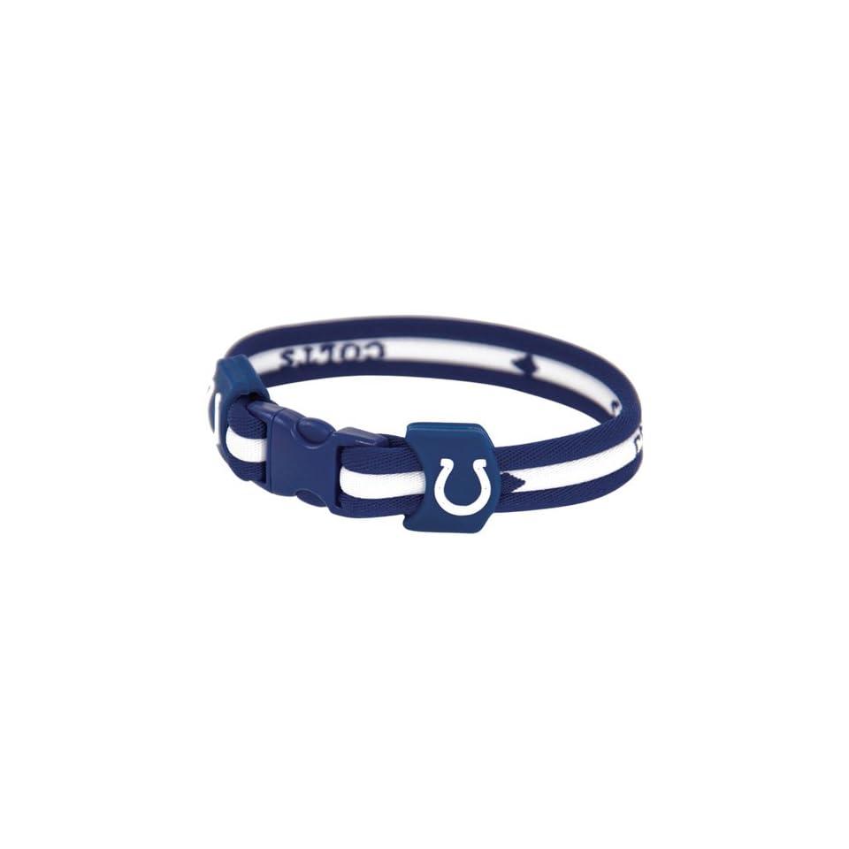 NFL Indianapolis Colts Titanium Sports Bracelet  Sports