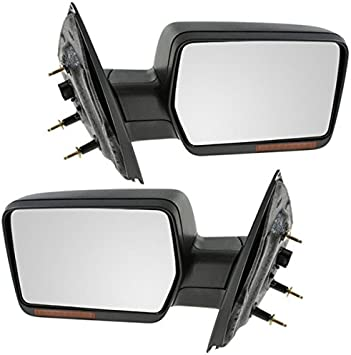 Sierra Pickup Truck Power Heated w//o Signal//Dim Mirror Left Right Side SET PAIR