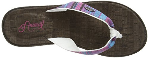 Animal Susie - Sandalias de sintético para mujer marrón - Brown (Dark Brown H99)