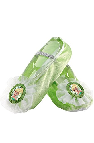 Tinker Bell Ballet Slippers,One Size Child(Discontinued by manufacturer) ()