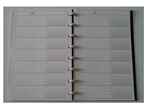 Exacompte 38710U Address Book 8'' x 5'' Black by Exacompte (Image #2)
