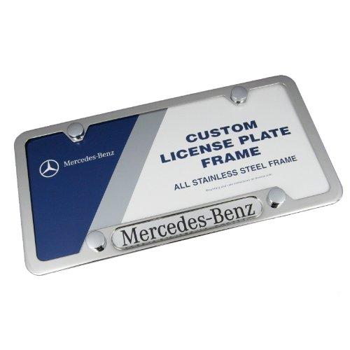 Mercedes-Benz Logo Frame Polished