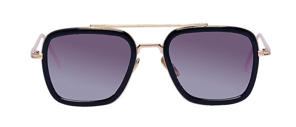 Amazon.com: Kelens - Gafas de sol estilo retro con marco ...