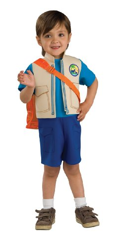 Nick Jr. Dora The Explorer Child's Diego Costume with Backpack, Toddler - Diego Baby Costumes