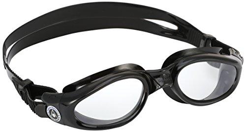 Aqua Sphere Kaiman Swim Goggle (Regular, Tinted Lens/Black (Aqua Sphere Goggle)