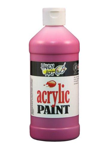Handy Art Student Acrylic Paint 16 ounce, Maroon (Maroon Paint)