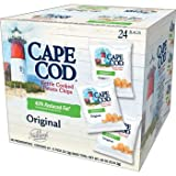 Cape Cod Kettle Cooked Potato Chips, Original, 0.75 oz, 24 ct