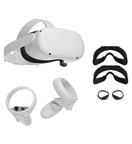 Oculus Quest 2 — All-in-One Virtual Reality 256GB Gaming Headset w/ Fit Pack Bundle —3D Cinematic Sound— Next-Level…