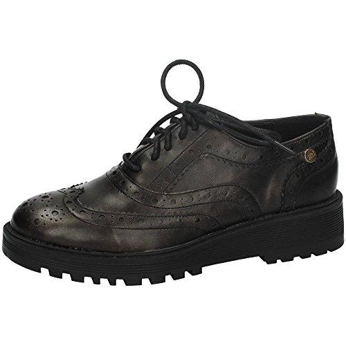 XTI Donna Zapato Sra Metalizado Plomo . Oxford grigio Size: 41