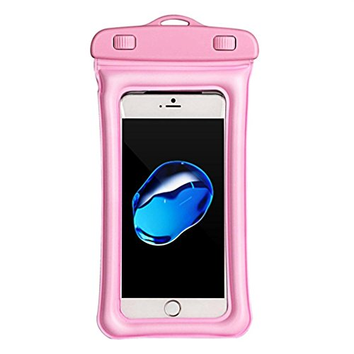 Universal Waterproof Case - Floating Underwater Case Dry Bag Phone Pouch for iPhone X/8/8P/7/7P, Samsung Galaxy S9/S9P/S8/S8P/Note 8, Google Pixel/LG/HTC up to 6.0