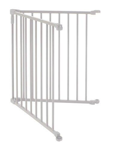 2 Panel Superyard Metal Extension Kit in White