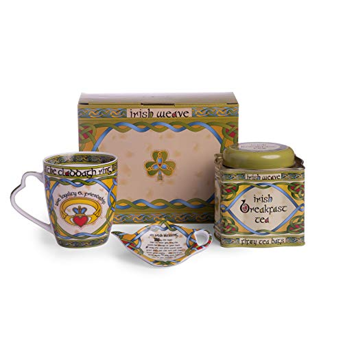 - Claddagh Irish Tea Set from the Irish Weave Collection