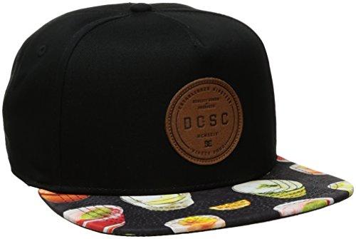 Dc Print Hat (DC Men's Geosense Hat, Black Cocktail Print, One Size)