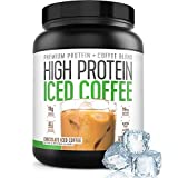 Protein Coffee Iced Coffee | High Protein Coffee | Protein Coffee – Keto Friendly | 18g of Protein, 2g Carbs, All Natural | Chocolate Iced Coffee, 18 Servings For Sale