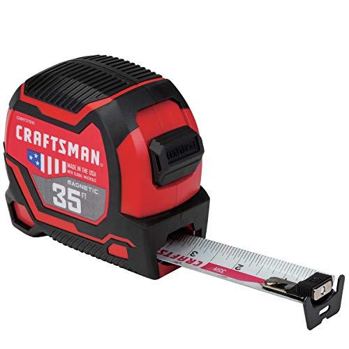 CRAFTSMAN Tape Measure 35-Foot, Magnetic (CMHT37935S)