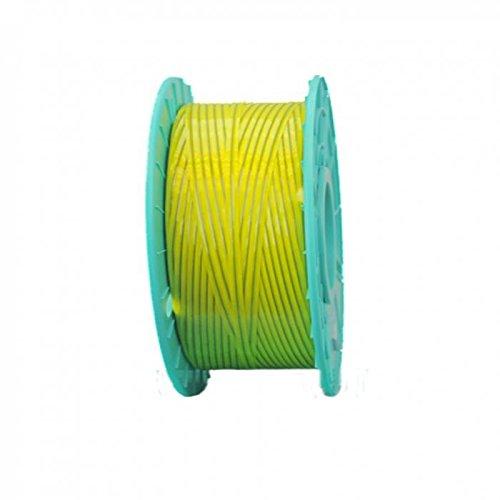 3,280 ft. Polycore Yellow Non-Metallic Twist Tie Ribbons (6 Spools) - 10-3280-Yellow
