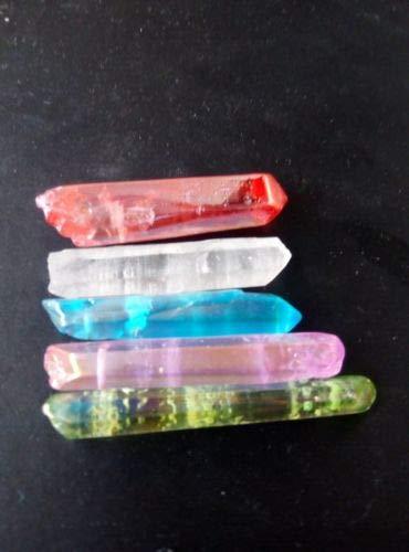 Dalas - Juego de 5 potentes Semillas de Titanio, Arco Iris, Aura ...