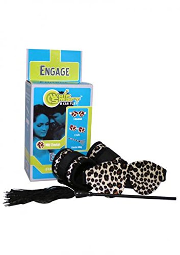 Whip Smart Engage Bondage Kit Cheetah---(Package of 2) by Adventure Industries