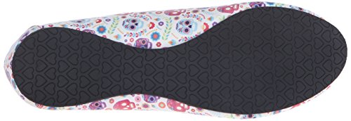 T.U.K. Women's Ditsy Day Of The Dead Flats Multi gfdGe5lr9