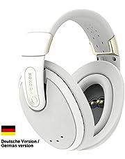 Kokoon Relax, Intelligente wireless Over-Ear-Kopfhörer mit Active Noise Cancelling, EEG-Sensoren, Kokoon App mit Audio Bibliothek und Meditationen, bequeme Schlafkopfhörer, deutsche Version, grau