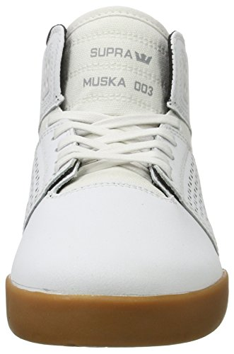 Supra Herren Skytop III Schuhe Weiß / Gummi