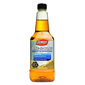 Gumout 510112 One-N-Done Complete Fuel System Cleaner, 20 oz.