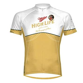 8c07b6ac9 Primal Wear Men s Miller High Life Cycling Jersey - MHL1J20M (Miller High  Life - L)  Amazon.co.uk  Sports   Outdoors