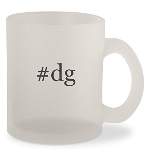 #dg - Hashtag Frosted 10oz Glass Coffee Cup - Dgs Sunglasses