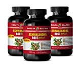 Stress Relief Vitamins for Women - ASHWAGANDHA Root Extract - ashwagandha Capsules for Fertility - 3 Bottles 360 Capsules