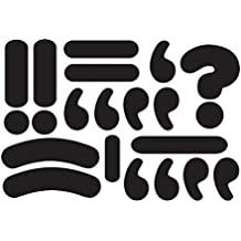 Ashley Productions Punctuation Marks Die-cut Magnet
