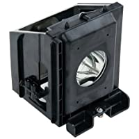 Compatible Samsung RPTV Lamp, Replaces Model HLR5667WAX/XAA (Type2) with Housing