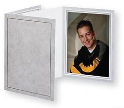 Cardboard Photo Folder 4x6 (Pack 0f 100) Light Gray
