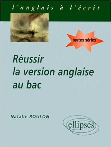 En ligne téléchargement gratuit Réussir la version anglaise au Bac pdf
