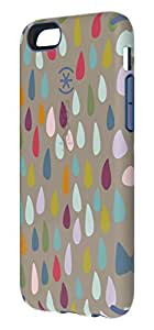 Speck Products CandyShell Inked Case for iPhone 6/6S - Rainbow Drop Pattern/Beaming Orchid Purple