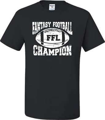 Adult fantasy football champion ffl champion t for Fantasy football league champion shirt