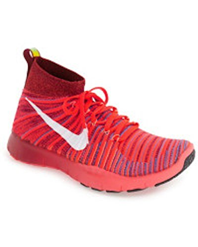 Herren White Crimson bright Flyknit Team Turnschuhe Free Train Red Blue photo Nike Force dvTpdq