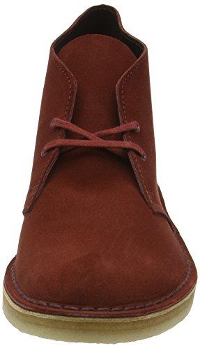 Clarks Originals Desert Boot, Stivali Uomo Marrone (Nut Brown Suede)