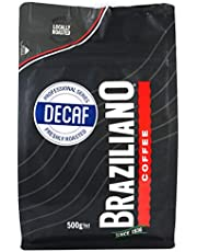 Braziliano Decaf Coffee Beans, 500 g