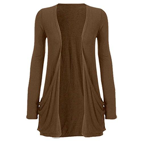 Cardigan FashionCity Donna Donna FashionCity Cardigan FashionCity Brown Brown qtagv8